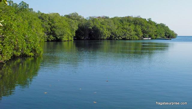 Laguna Encantada (Lagoa Encantada), Isla Grande, Ilhas do Rosário, Colômbia