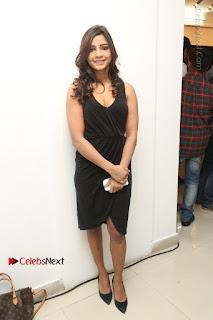 Telugu Actress Kamna Singh Stills in Black Dress at Bharat Thakur Art Exhibition Launch  0191.jpg