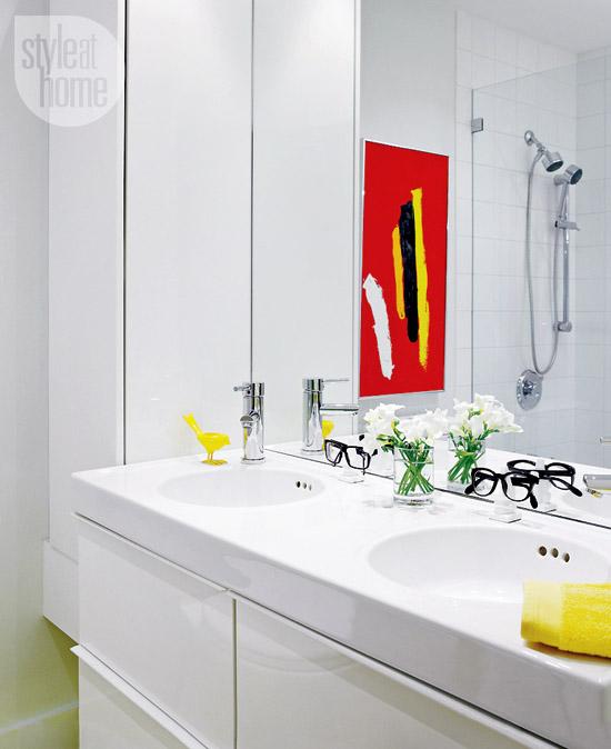 Achados de Decoração, blog de decoração, decoração vermelho e preto, decoração de apartamento pequeno