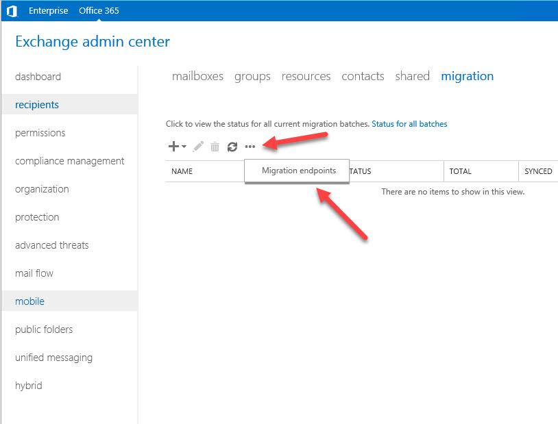 TaskRepository: Exchange Hybrid Mailbox Move Fail - 401