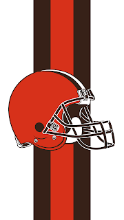 Wallpaper Cleveland Browns white para celular gratis