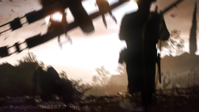 Battlefield 1 Biplane Crash