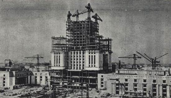 Ultimate Collection Of Rare Historical Photos. A Big Piece Of History (200 Pictures) - Palace of Culture and Science