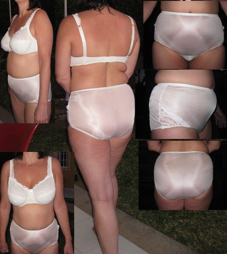 Nylon Brief Panty 52