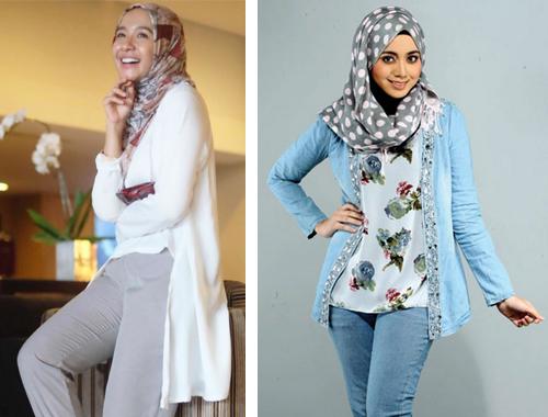 model baju santai muslim