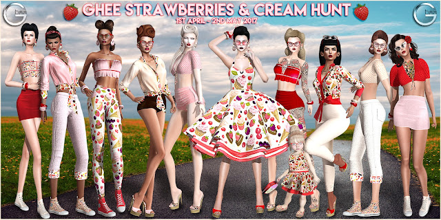 It's nearly time for the Ghee Strawberries & Cream Hunt!
