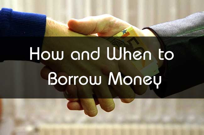 How and when to borrow money even for poorly qualified for Borrowing money to build a house