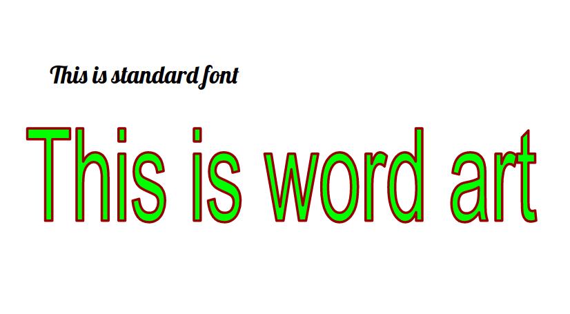 how to change wordart in google slides