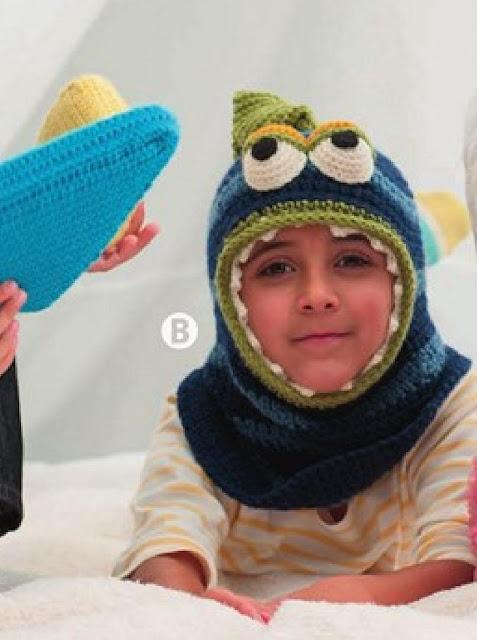 Patrón #1245: Nessie Calaclava a Crochet
