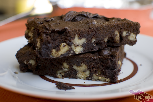 Brownie de chocolate (sin chocolate)