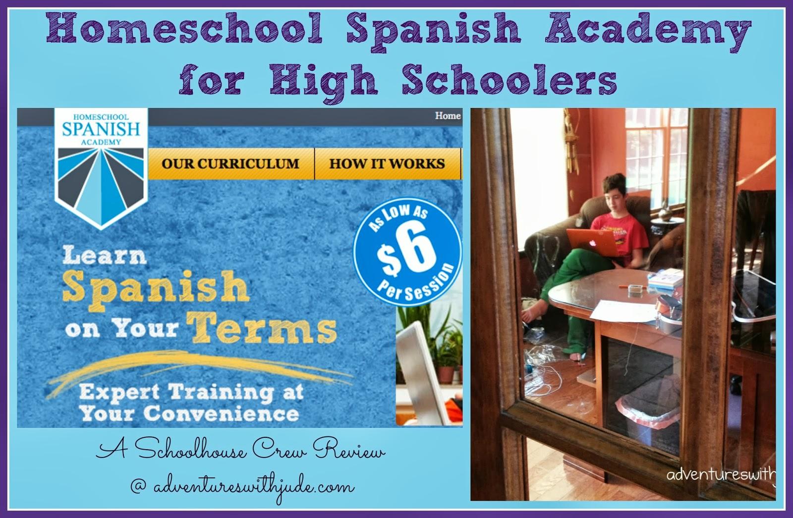 Adventures with Jude: Homeschool Spanish Academy (A