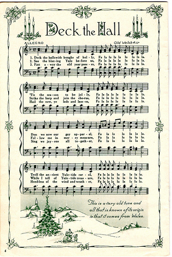 Vintage Christmas Sheet Music on Flickr: April