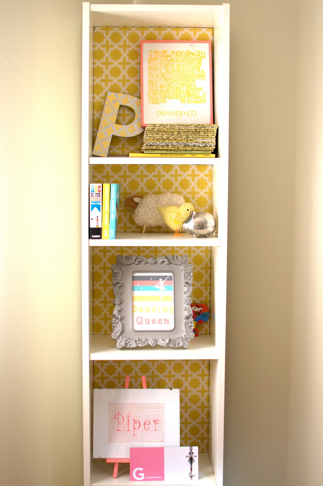 Ikea Billy Yellow Piper Janes Nursery Faq And Project Tutorial Round Up
