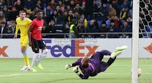مانشستر يونايتد يسقط امام فريق استانا بهدفين لهدف في مباراة الجولة الخامسه من الدوري الأوروبي