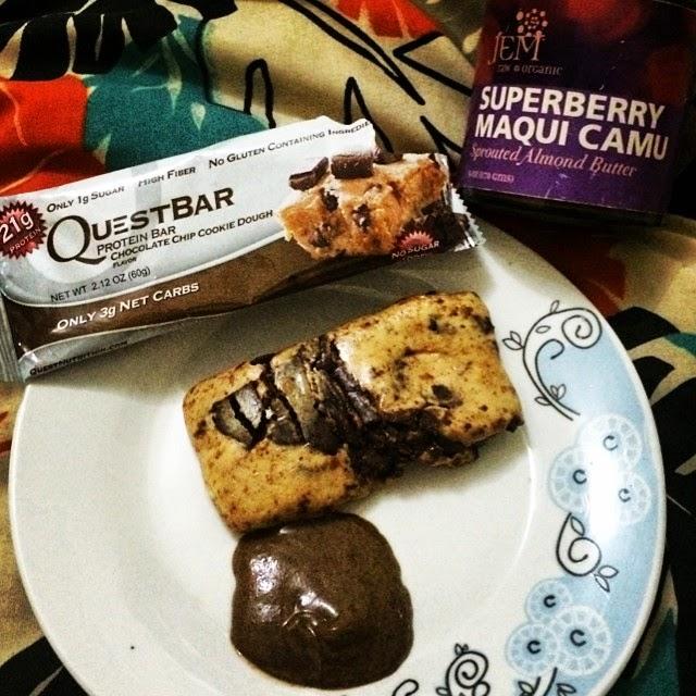 0ccc56d1c Nutrição e Vida! por Carol Lenzi  Barra de Proteína Questbar ...
