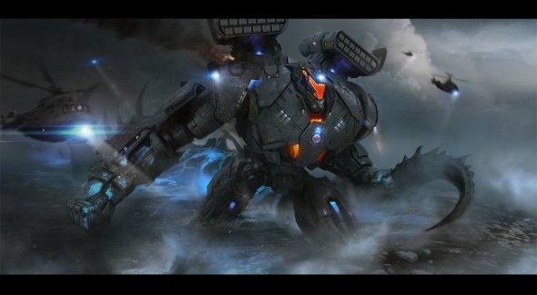 Daryl Mandryk artstation arte ilustrações ficção científica sombrio robôs futuristas alienígenas