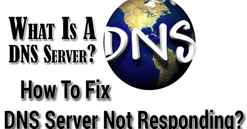what to do dns server not responding
