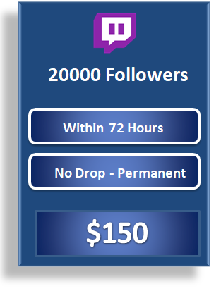 20000 buy live stream viewers, buy active twitch followers