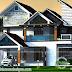 Slanting + sloping roof 2869 sq-ft home