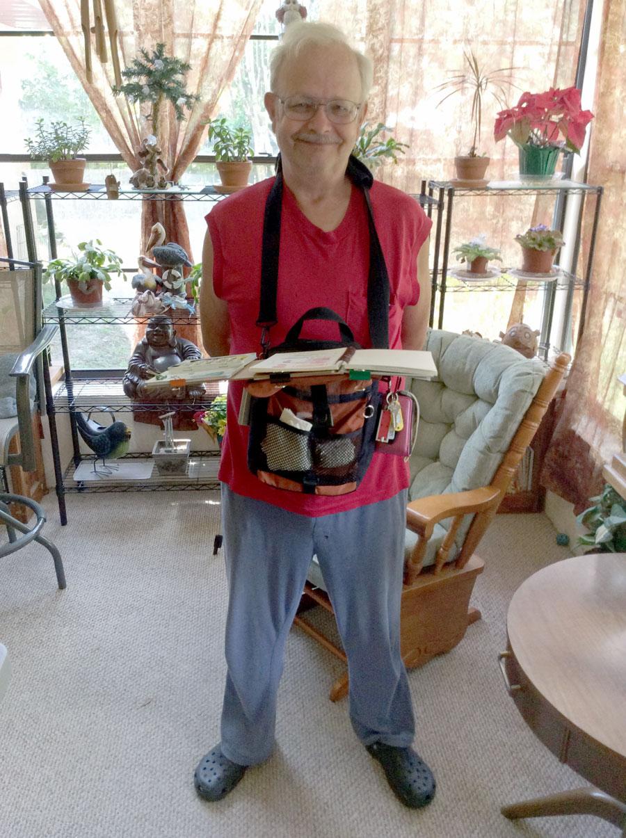 sbwatercolors and sketching darsie beck field easel art bag update