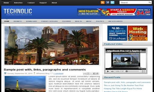 Technolic Blogger Template