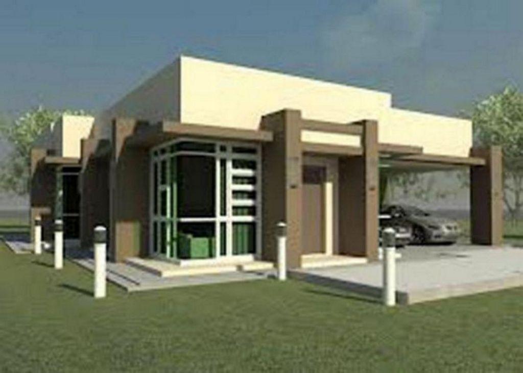 Model Rumah 1 Lantai Terlihat Menarik
