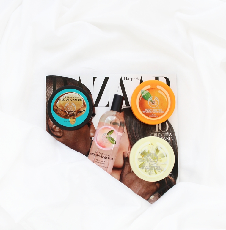 Nowości w mojej kosmetyczce Sierpień 2016 The Body Shop