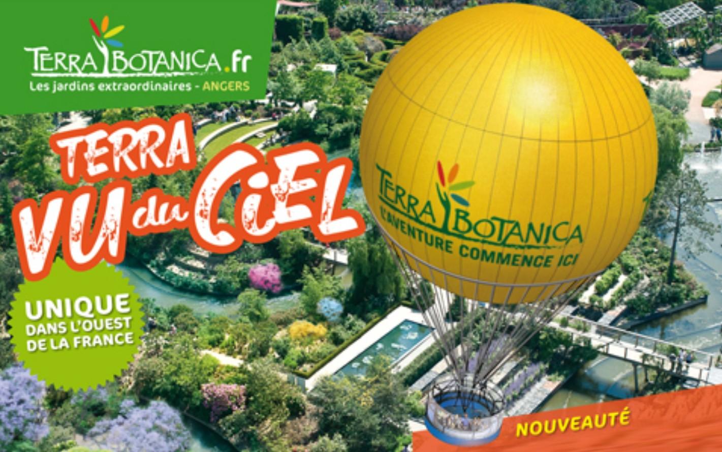 montgolfiere terra botanica