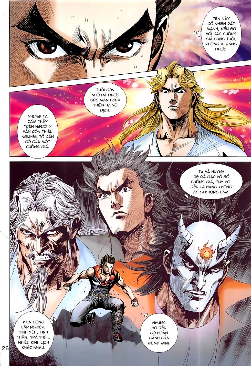 Đông Phương Chân Long chap 64 - Trang 26