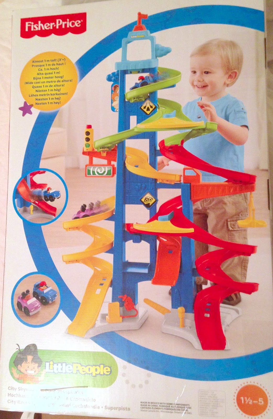 Fisher Price Cars For Little People Skyway
