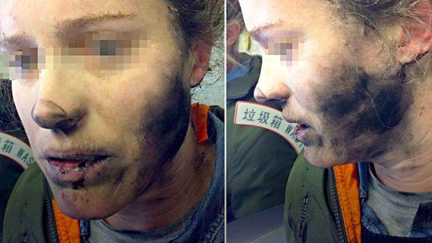 headphones explosion during flight