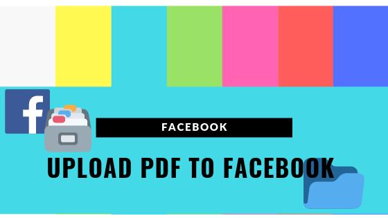 Upload Pdf To Facebook