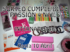 Sorteo Cumple_Blog Passion 4 Nails
