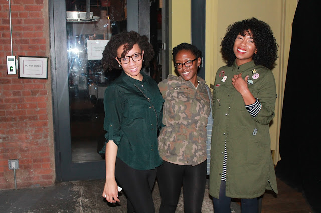 Bryanda from Quirky, Brown Love and Whitney from Naptural85