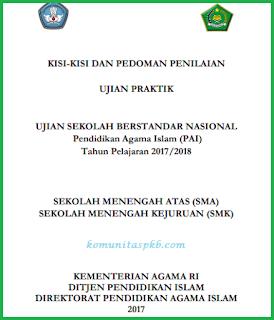 Kisi - Kisi UP PAI SMA/SMK Kurikulum 2013 Tahun 2018