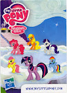 My Little Pony Wave 7 Twilight Sparkle Blind Bag Card