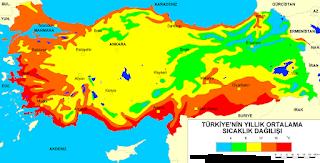 Türkiye'de Sıcaklık