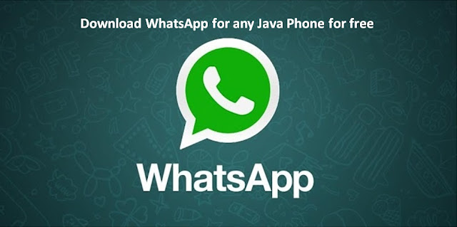 Whatsapp for Java Phones - How to Download and Install - The Crazy