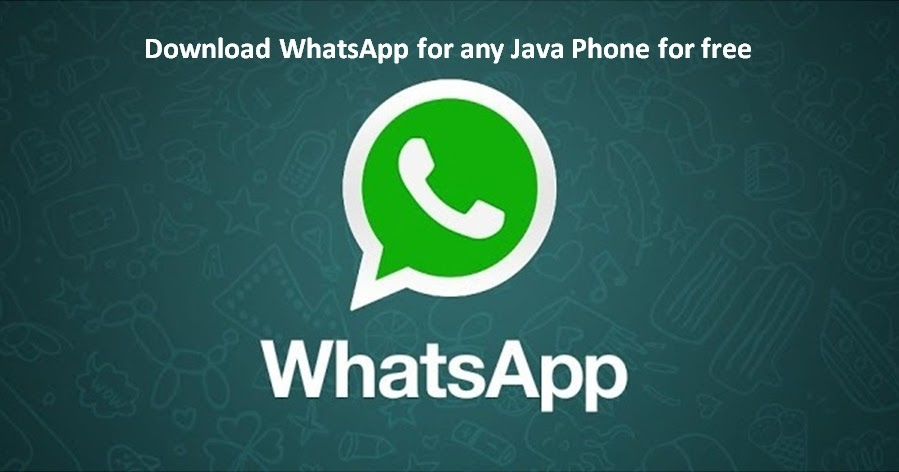 Download WhatsApp For Any Java and Asha Phones