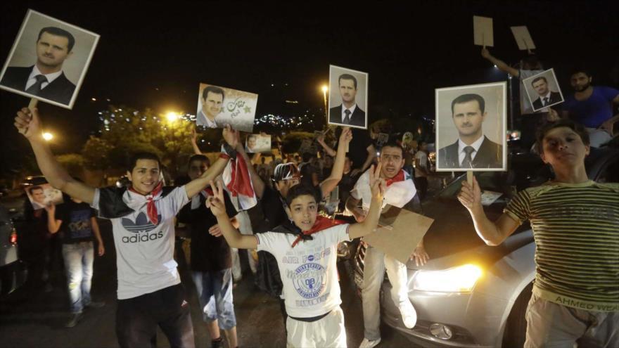 Sueño de EEUU de derrocar a Al-Asad no se hará realidad