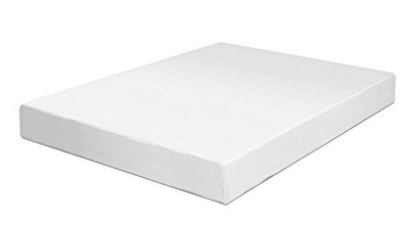 Swiss Ortho Sleep 6 Inch High Density 2x Layered Full Memory Foam Mattress  With Bamboo Cover