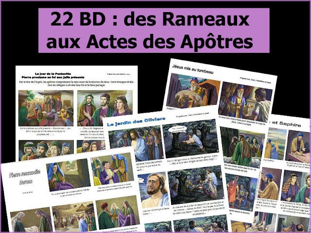 22 BD : des Rameaux aux Actes des apôtres