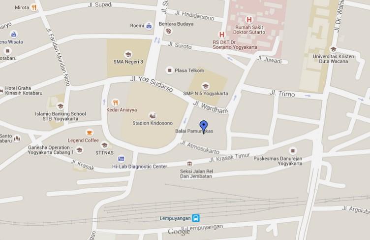 Daftar Gedung Pertemuan Pernikahan Yogyakarta 2015 Peta Lokasi Balai Pamungkas