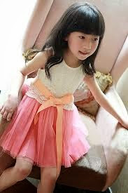 anak kecil keren cantik bergaya ala korea