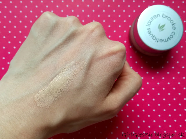 Lauren Brooke Cosmetiques prirodny kremovy makeup neutral 10 swatch