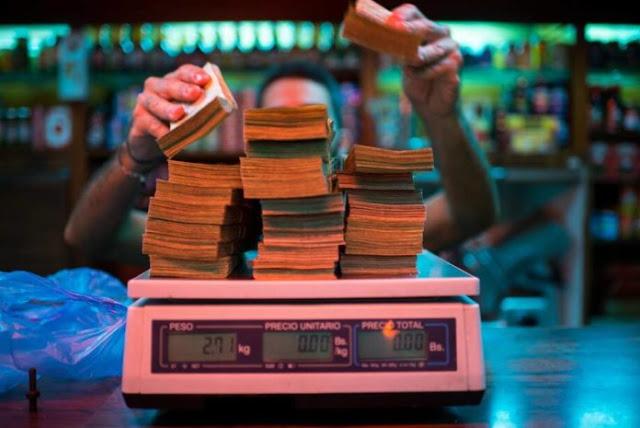 Hiperinflación se come a Venezuela y despedirá el año en 1.000.000%