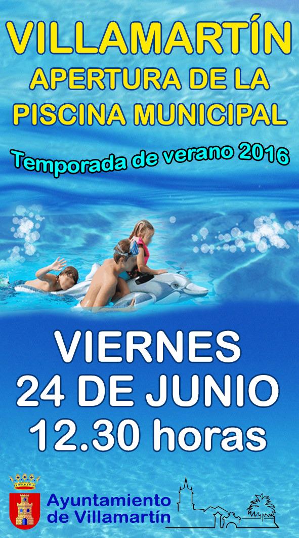 Villamartin cultural la piscina de verano abre sus puertas for Piscinas j martin caro