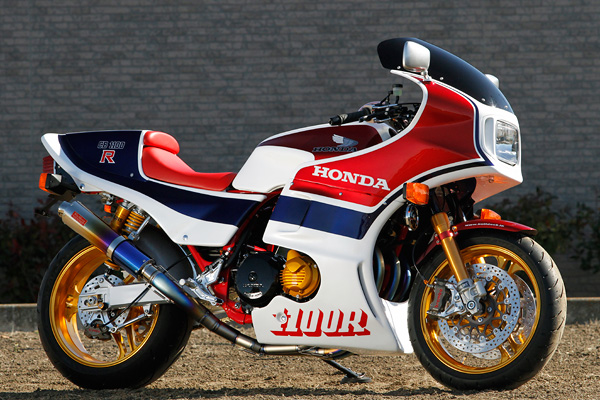 Racing Caf U00e8  Honda Cb 1100 R No 009 By Bull Dock