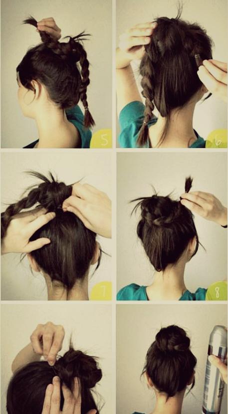 Fashion Remaja Cara Menata Rambut Dengan Kepang Modern