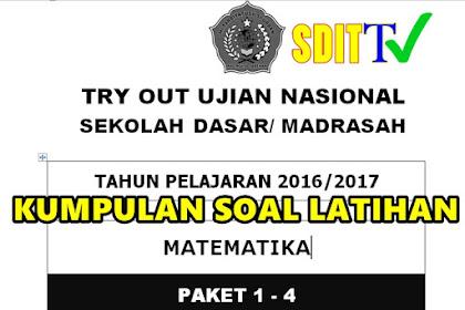 KUMPULAN SOAL SOAL LATIHAN UJIAN SEKOLAH/ UJIAN NASIONAL SD/MI  Tahun Ajaran 2016/2017 Komplit